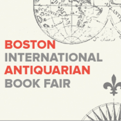 41st Annual Boston International Antiquarian Book Fair