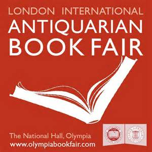 London International Antiquarian Book Fair (Booth TBD)
