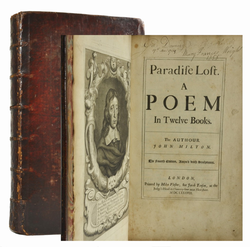 a literary analysis of the 12 books of paradise lost by john milton Satan in paradise lost: milton  he is the heroic figure in the first two books  gadml-literary john baker katerothwell.