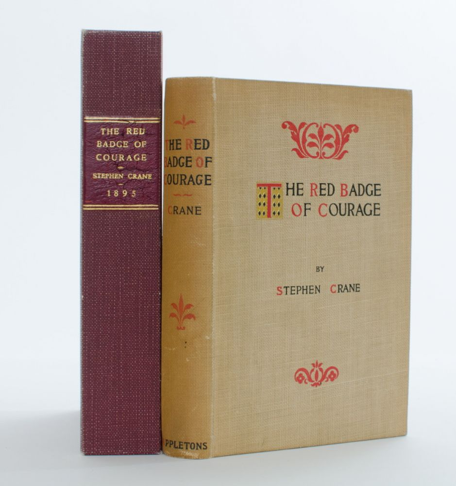 a literary analysis of red badge of courage by stephen crane The paperback of the the red badge of courage by stephen crane at barnes & noble  imagined style of the analysis  the first novel of literary distinction to.
