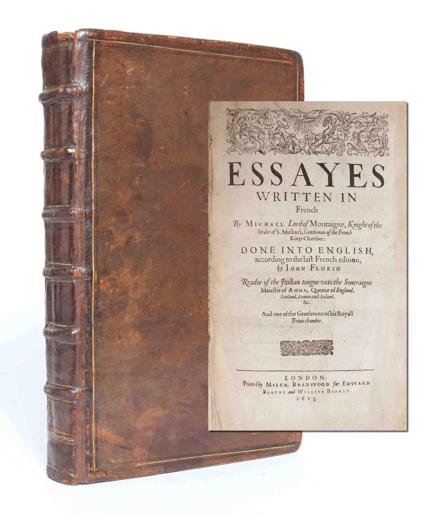 montaigne essays florio tr Project gutenberg's the essays of montaigne, complete, by michel de  montaigne this ebook is for the use of anyone anywhere at no cost and with  almost no.