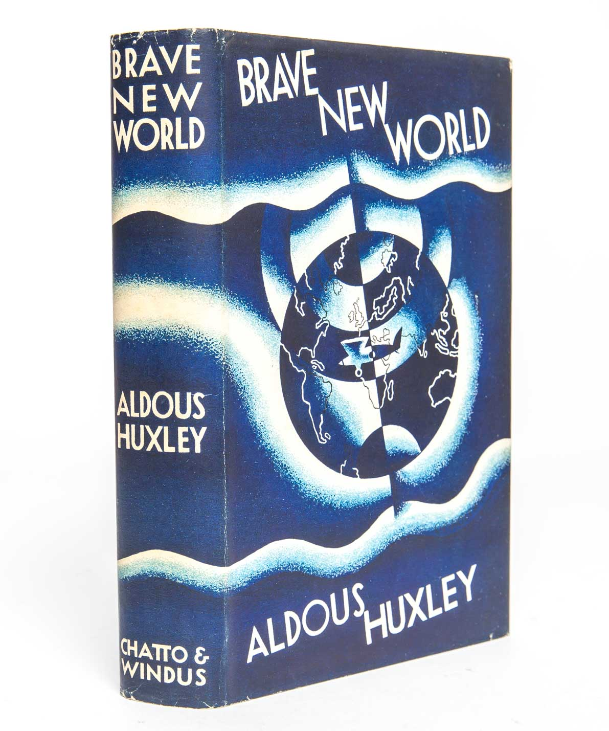 aldous huxley depicts a fictitious utopia in the brave new world Community, identity, stability is the motto of aldous huxley's utopian world state here everyone consumes daily grams of soma, to fight depression, babies are born in laboratories, and the most popular form of entertainment is a feelie, a movie that stimulates the senses of sight, hearing, and touch.