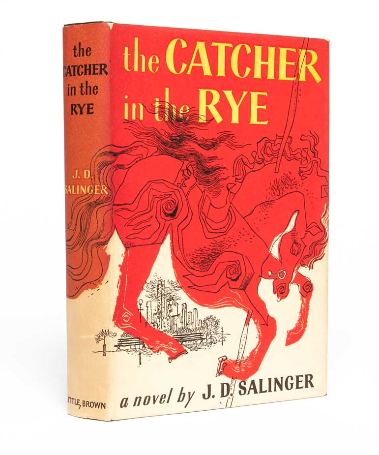 Image result for Catcher in the Rye, by JD Salinger.
