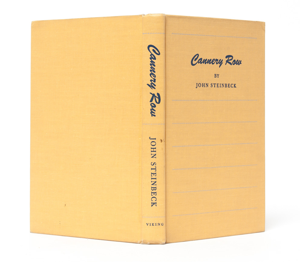 Cannery Row by John Steinbeck on Whitmore Rare Books