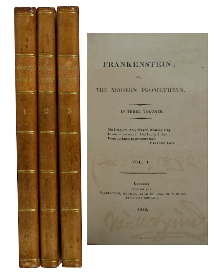 frankenstein the modern prometheus by mary shelley Frankenstein, or the modern prometheus: danse macabre edition by mary shelley, chris selna (editor) starting at $1000 frankenstein, or the modern prometheus: danse macabre edition has 1 available editions to buy at alibris uk.