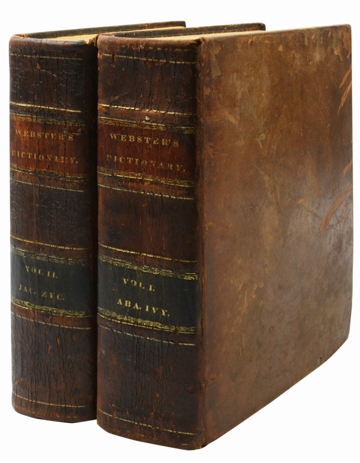 An American Dictionary of the English Language. Noah Webster.