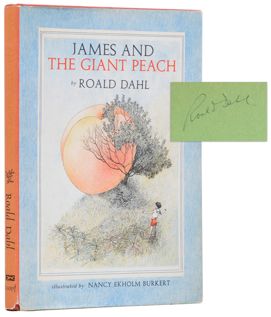 JAMES AND THE GIANT PEACH (Signed First Edition)