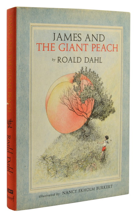 JAMES AND THE GIANT PEACH. Roald Dahl.