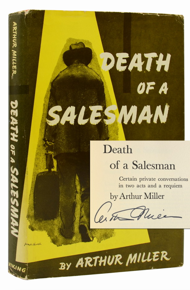 Death of a Salesman (Signed First Edition)
