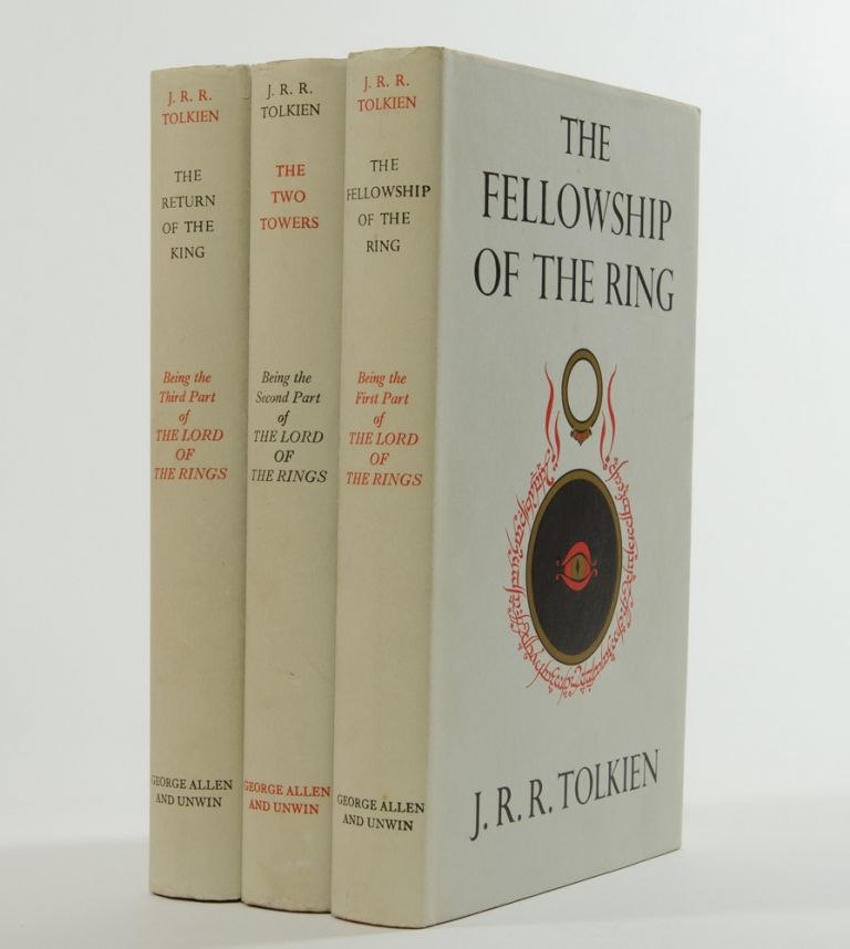 The Lord of the Rings Trilogy, comprised of: The Fellowship of the Ring; The Two Towers and The Return of the King. J. R. R. Tolkien.