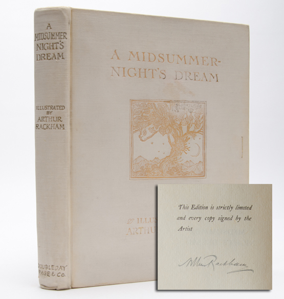 A Midsummer-Night's Dream (Signed Ltd.). Arthur Rackham, William Shakespeare.