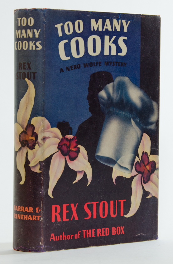 Too Many Cooks Rex Stout Second Printing