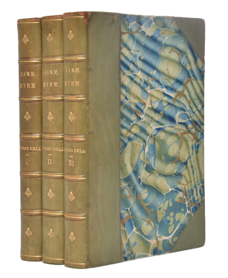 Jane Eyre. An autobiography. Charlotte Bronte, Currer Bell.