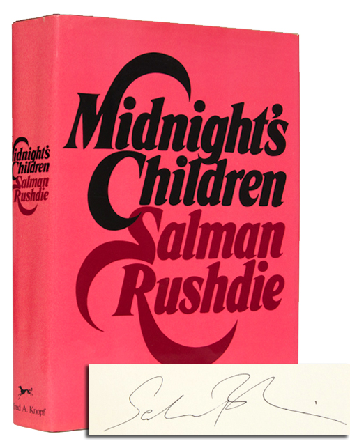 Midnight's Children (Signed First Edition)