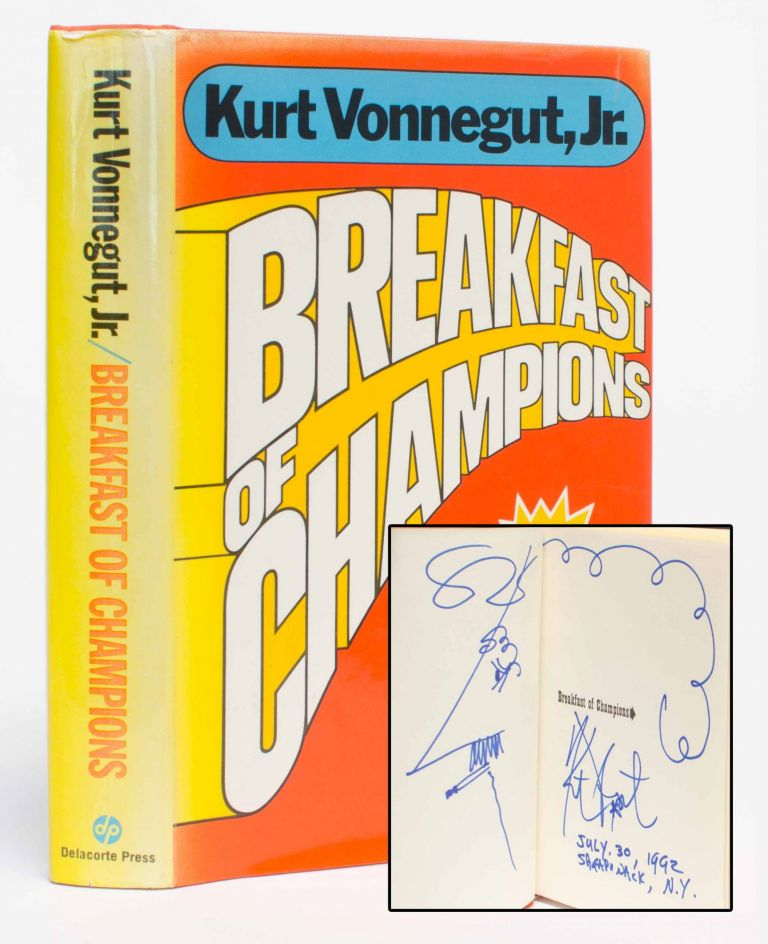 Breakfast of Champions (Signed w. Drawing)