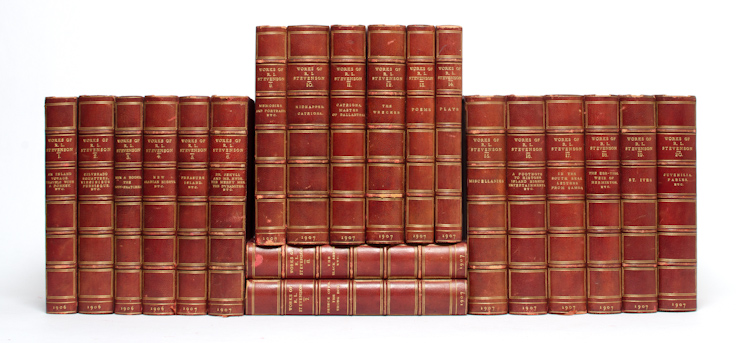 The Works of Robert Louis Stevenson (The Pentland Edition in 20 volumes)