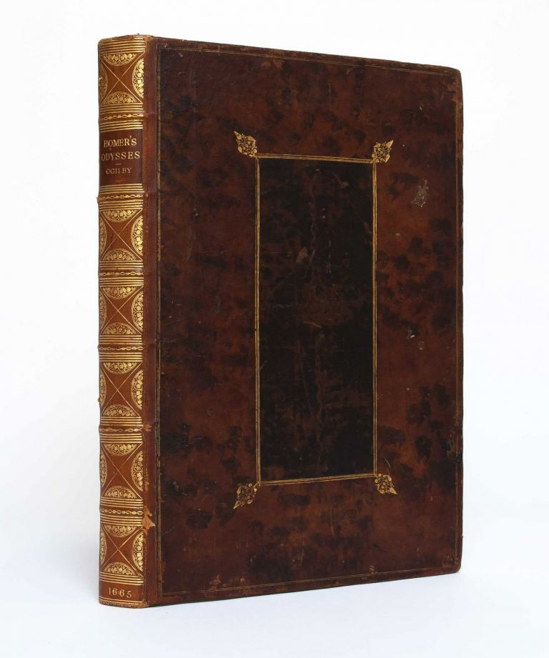 Homer his Odysses translated, adorn'd with sculpture, and illustrated with annotaions. Homer, John Ogilby.