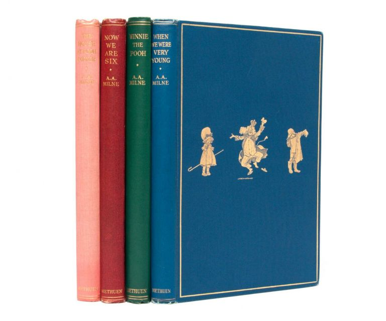 THE POOH BOOKS, Including: When We Were Very Young; Winnie-the-Pooh; Now We Are Six; and The House at Pooh Corner
