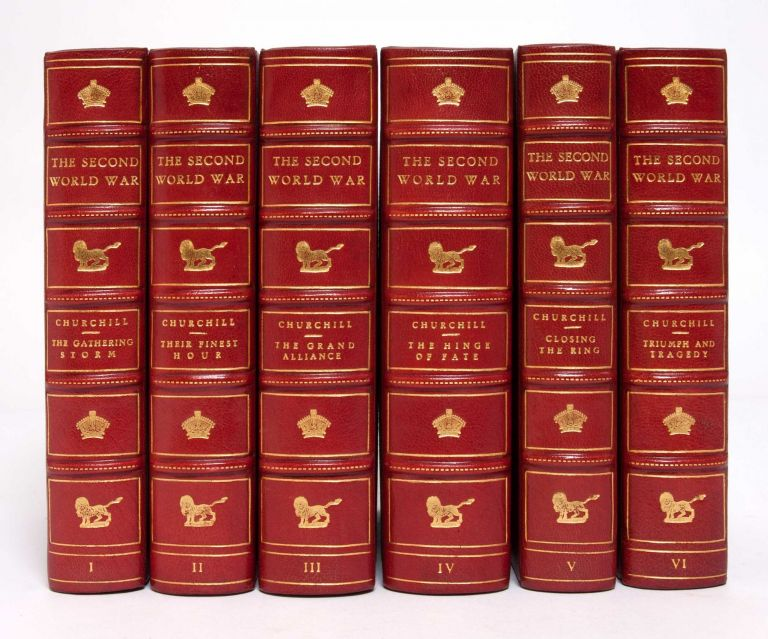 The Second World War (Finely bound in 6 volumes)