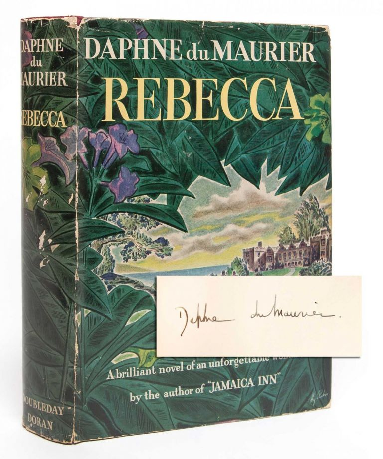 Rebecca (Signed First Edition). Daphne Du Maurier.