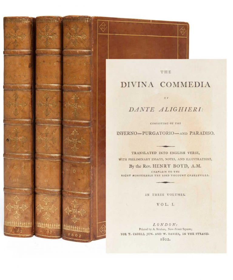 The Divina Commedia of Dante Alighieri, Consisting of the Inferno - Purgatorio - and Paradiso