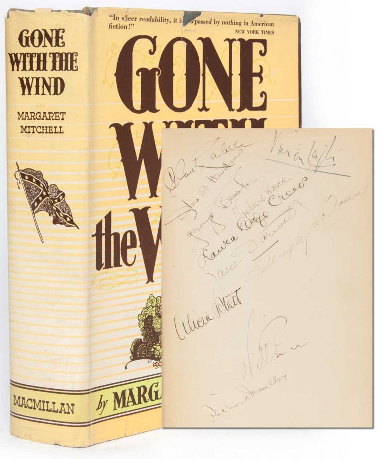 Gone with the Wind (Cast Signed). Margaret Mitchell.