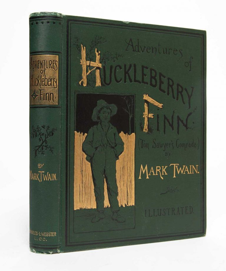 Adventures of Huckleberry Finn. Mark Twain, Samuel L. Clemens.
