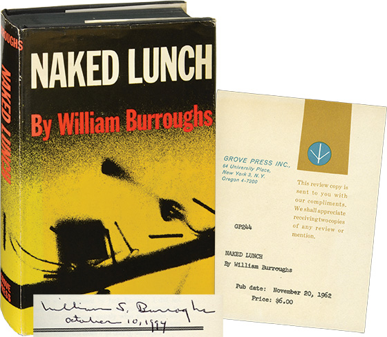 Naked Lunch (Review copy, Signed)