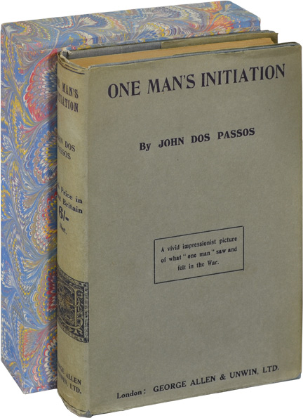 One Man's Initiation. John Dos Passos.