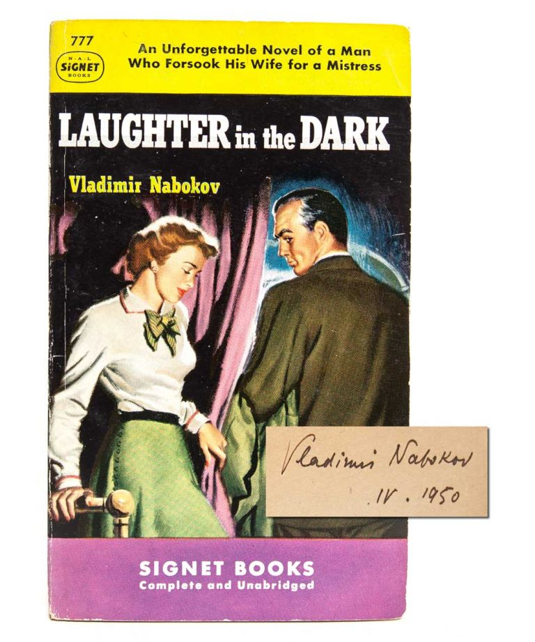 Laughter in the Dark (Signed Association copy). Vladimir Nabokov.