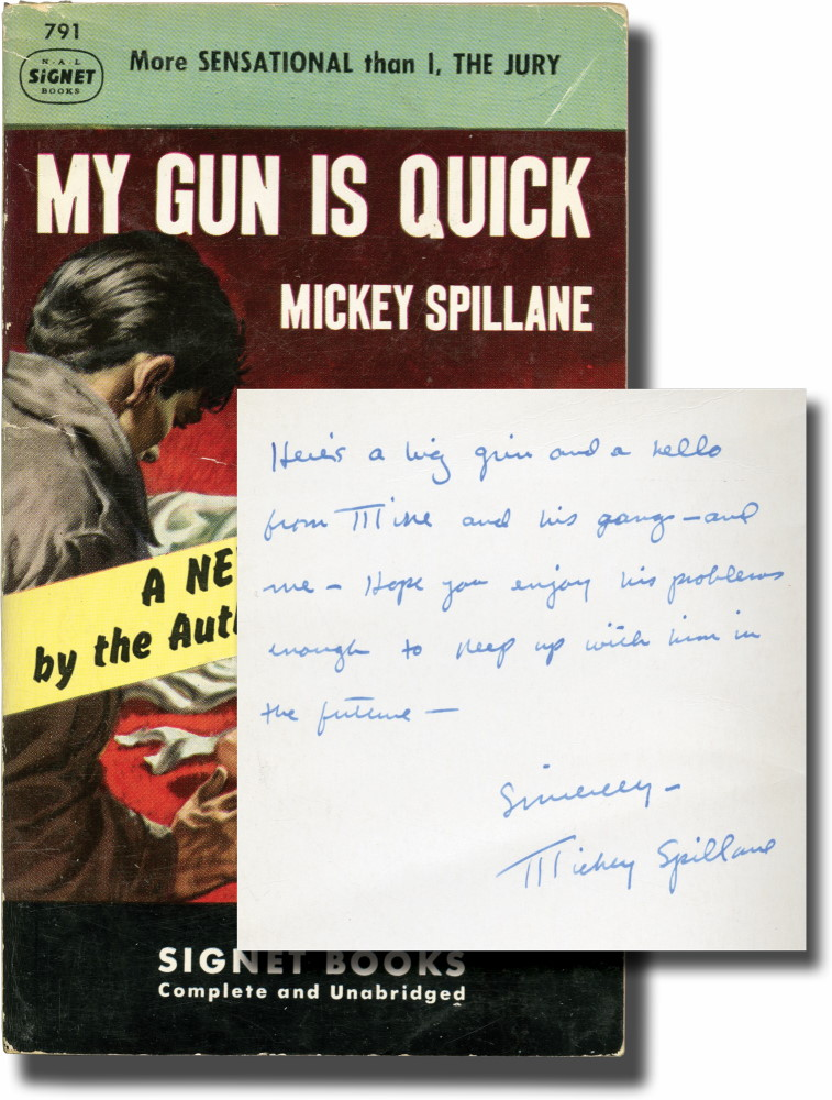 My Gun is Quick (Presentation Copy)