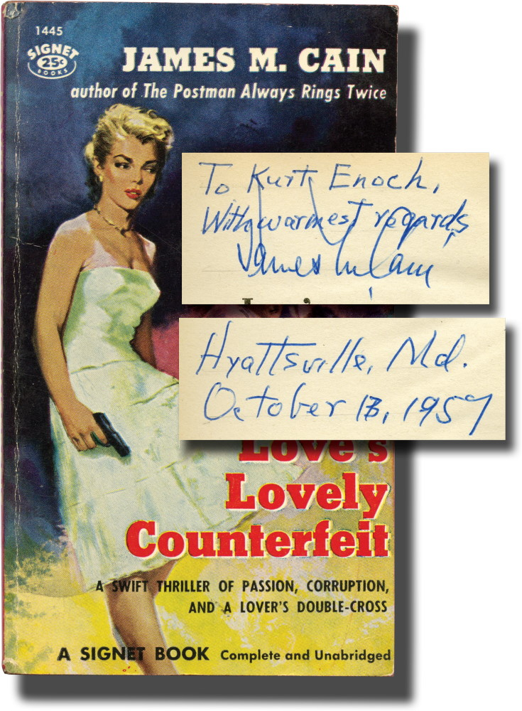 Love's Lovely Counterfeit (Presentation Copy