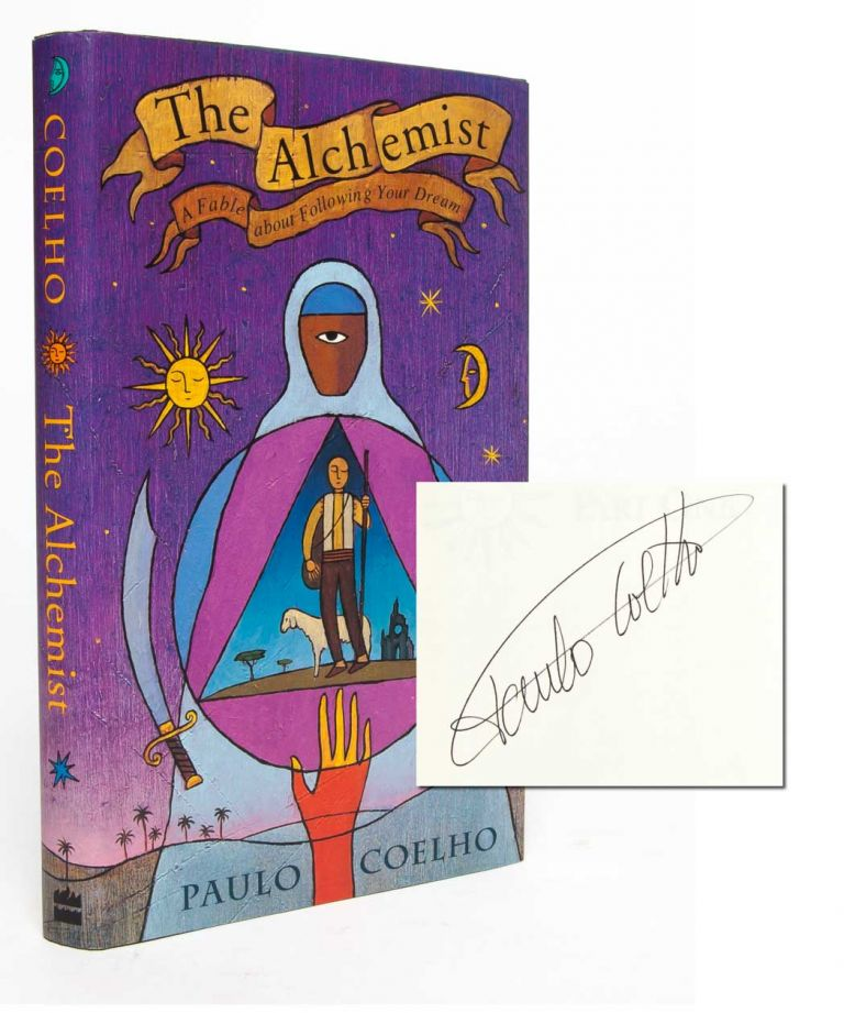 The Alchemist (Signed First Edition). Paulo Coelho.