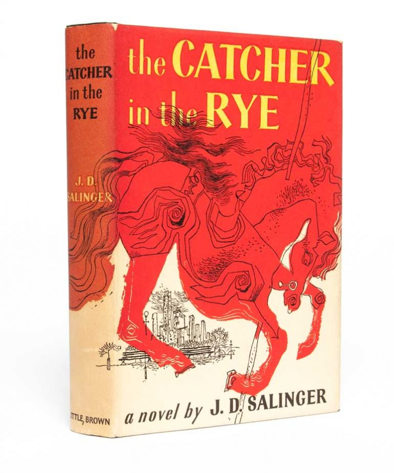 The Catcher in the Rye. J. D. Salinger, Jerome David.
