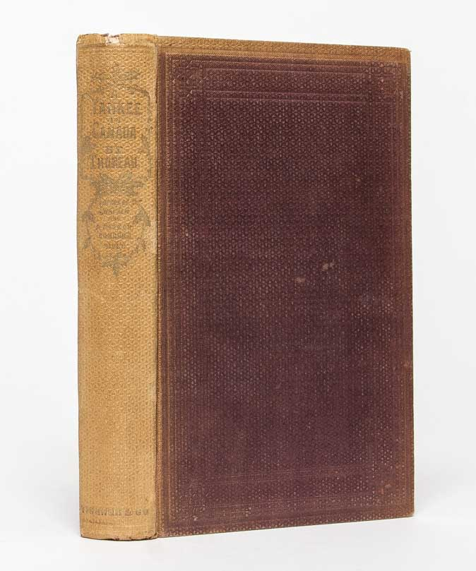 A Yankee in Canada, With Anti-Slavery and Reform Papers. Henry David Thoreau.