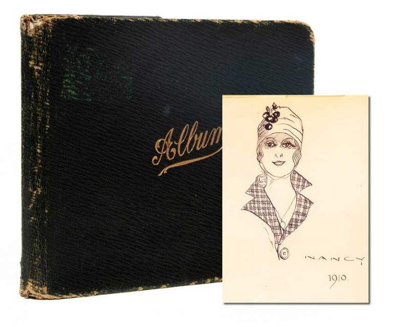 Literary and artistic commonplace book of a young British woman in the years leading up to WWI