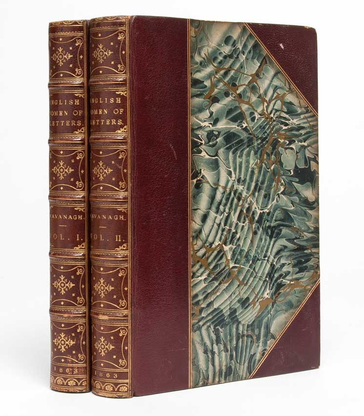 English Women of Letters: Biographical Sketches (In Two Volumes). Julia Kavanagh.