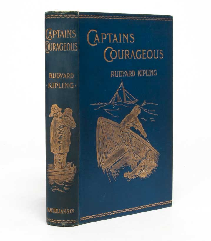 Captains Courageous. Rudyard Kipling.