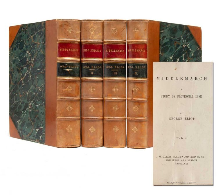 Middlemarch (in 4 vols