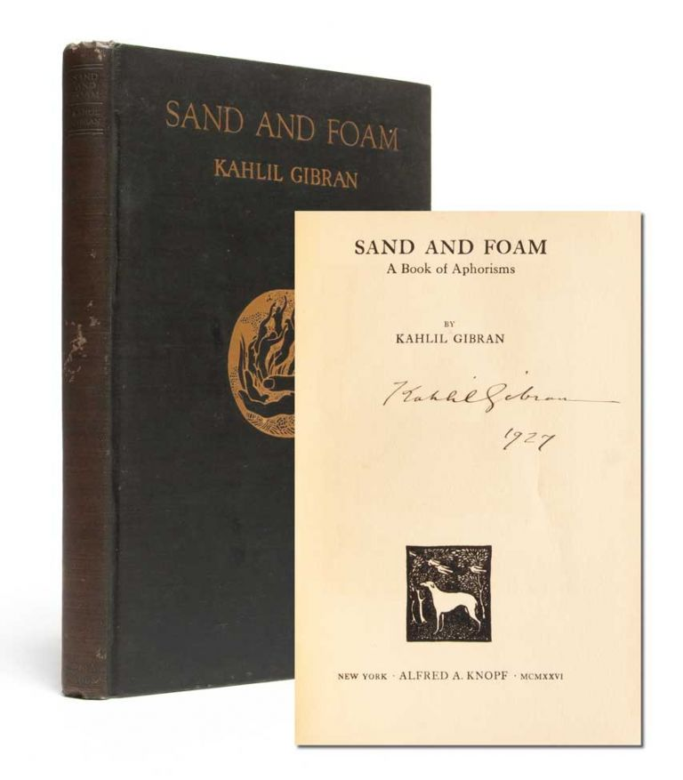 Sand and Foam (Signed Trade Edition