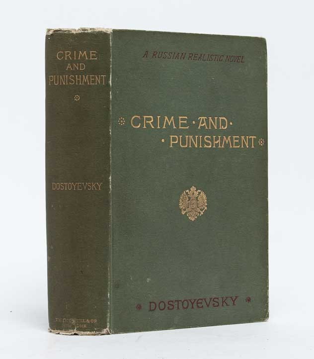Crime and Punishment. Feodor M. Dostoyevsky, Dostoevsky.