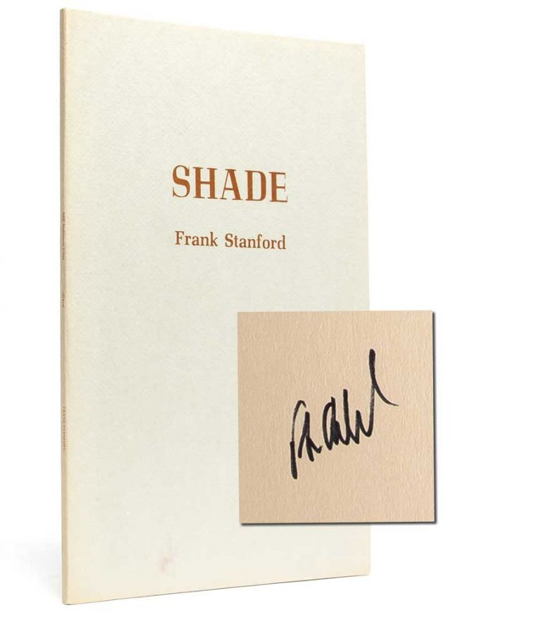 Shade (Signed First Edition
