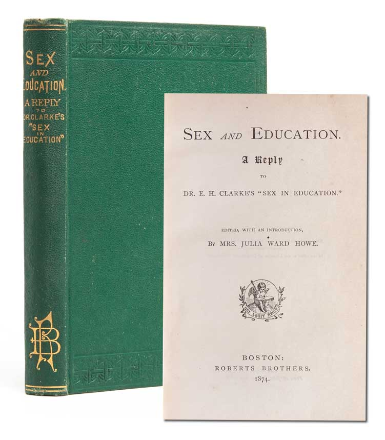Sex and Education. Julia Ward Howe.