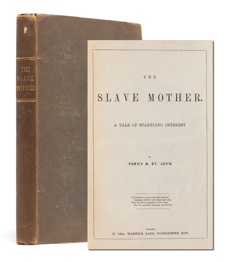 The Slave Mother. Percy St. John.