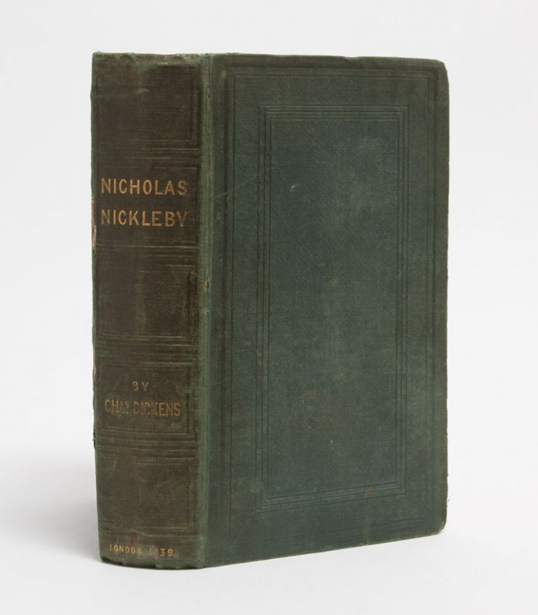 The Life and Adventures of Nicholas Nickleby. Charles Dickens.