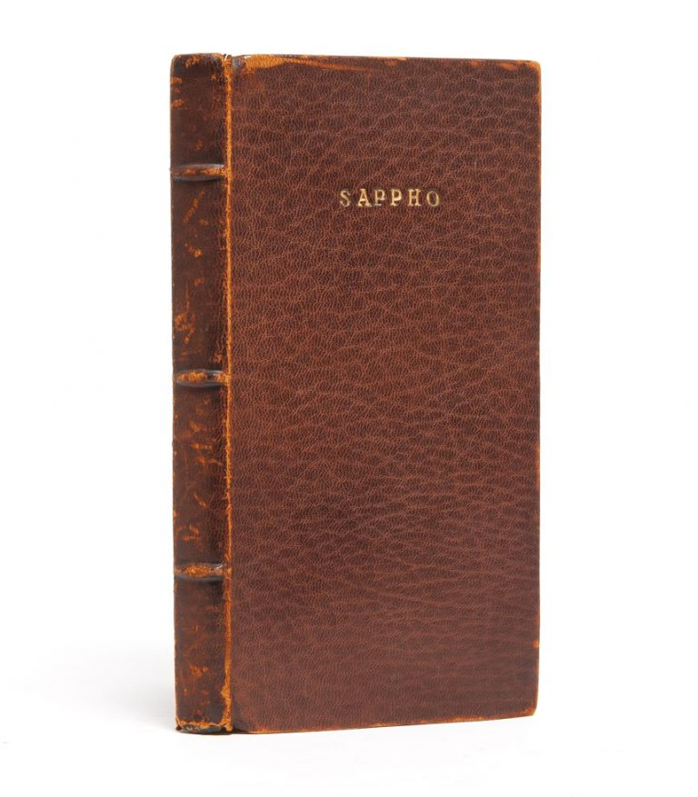 The Poems of Sappho: An Interpretive Rendition into English. Sappho, John Myers O'Hara.