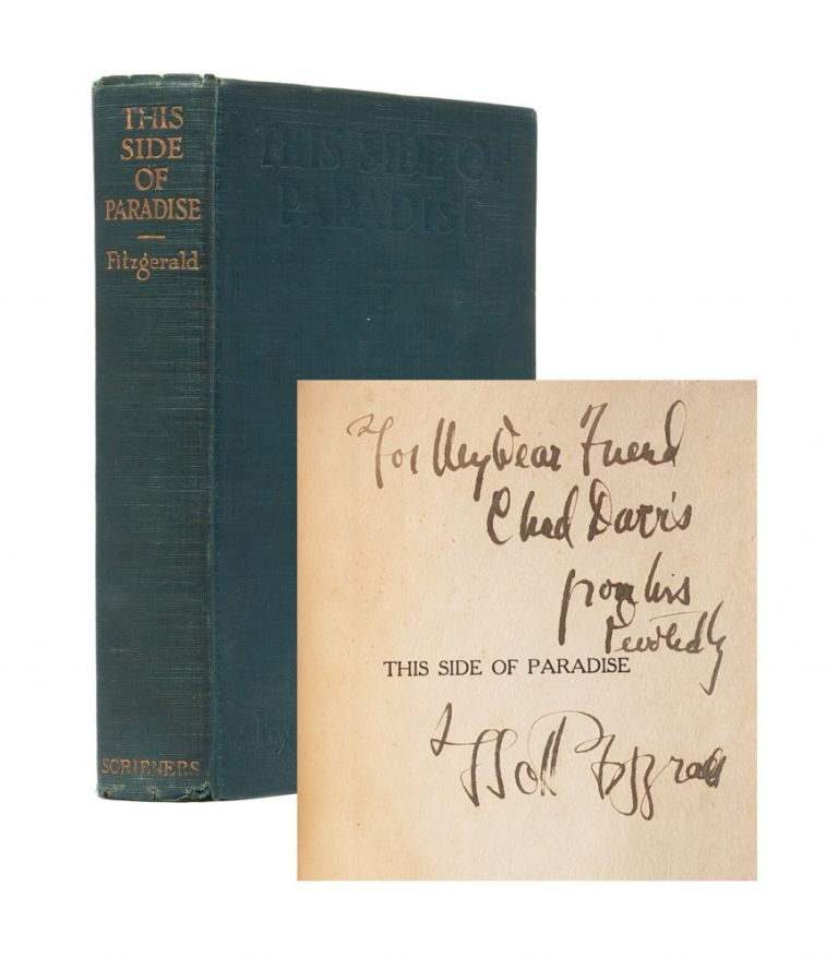 This Side of Paradise (Inscribed First Edition