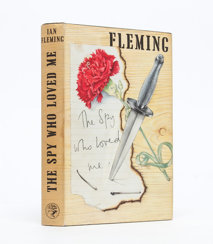 The Spy Who Loved Me. Ian Fleming.