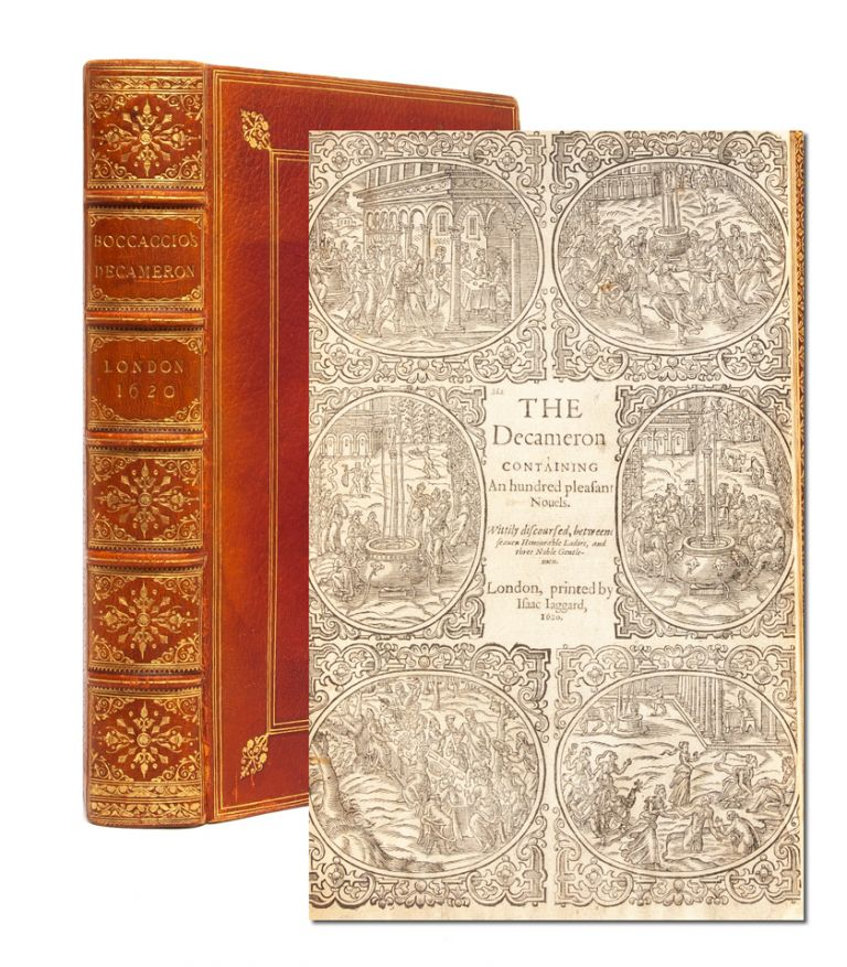 The Decameron Containing an hundred pleasant novels. Wittily discoursed, between seaven Honourable Ladies, and three Noble Gentlemen. Giovanni Boccaccio.