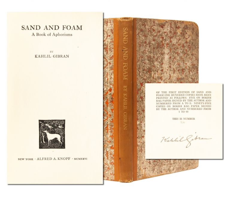 Sand and Foam (Signed Ltd. Edition)